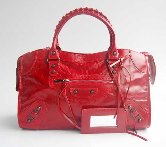 Balenciaga Handbag Balenciaga The City Handbag red 084332