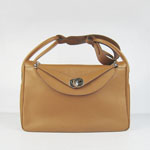 Hermes Women Shoulder Bag Light brown 6208