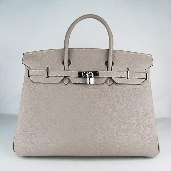 Hermes Birkin 40CM Togo Leather Bag gary 6099