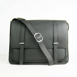2012 Hermes Jypsiere Togo Leather Messenger Bag H2812 Black