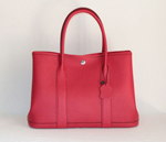 Hermes Garden Party Bag large sizes red H2808