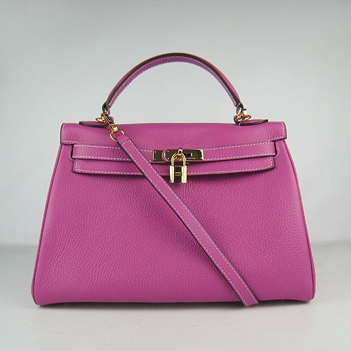 Hermes Kelly 32cm Togo Leather Bag Peachblow 6108