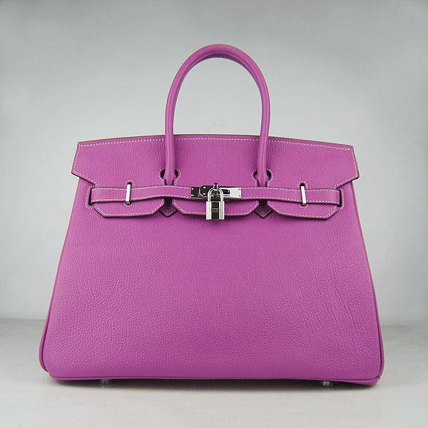 Hermes Birkin 35CM Togo Leather Bag Peachblow 6089