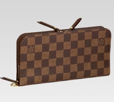 Louis Vuitton handbag damier canvas insolite wallet n63071