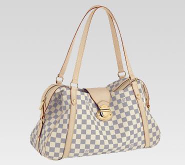 Louis Vuitton handbag damier azur canvas stresa gm n42221