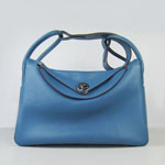 Hermes Women Shoulder Bag Blue 6208
