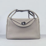 Hermes Women Shoulder Bag gray 6208