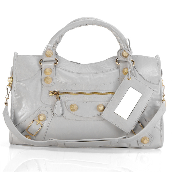 Balenciaga Giant City Bag Light gray 084332B
