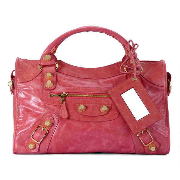 Balenciaga Giant City Bag pink 084332B