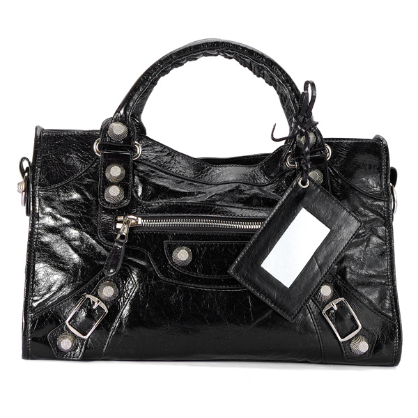 Balenciaga Giant City Black 084332A