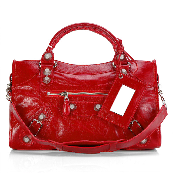 2012 Balenciaga Giant City red 084332A