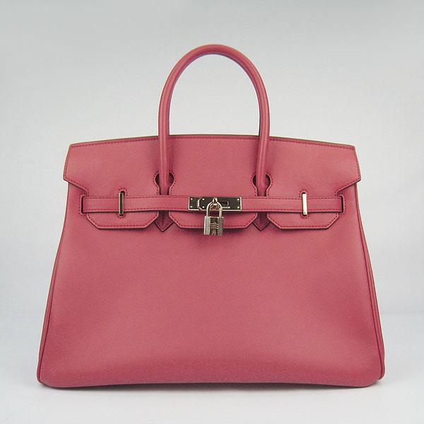 Hermes Birkin 35CM Togo Leather Bag 6089 Watermelon red