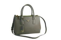 2012 new Prada handbag P-BN1801 new gray
