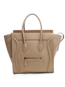 2012 Celine Boston smile Tote handbag 3308 apricot