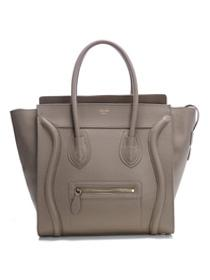 2012 Celine Boston smile Tote handbag 3308 light Khaki