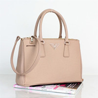Prada Classic Saffiano Leather Medium Tote Bag - BN1801 pink