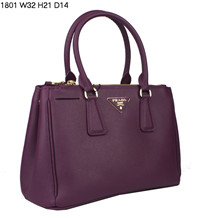 2012 Prada Saffiano Lux Tote Bag 1801 purple