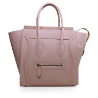 Celine Boston smile Tote 3308 pink