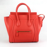Hot 2013 celine luggge tote handbag 88022 watermelon red