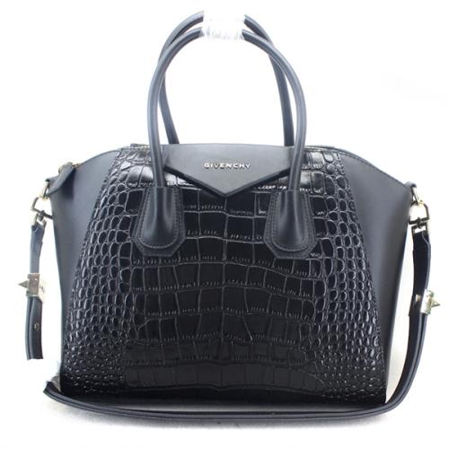 Givenchy handbags crocodile pattern 9981L black