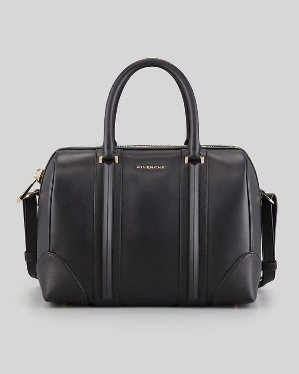 Hot 2013 Givenchy Lucrezia Calfskin leather bag 59267 black