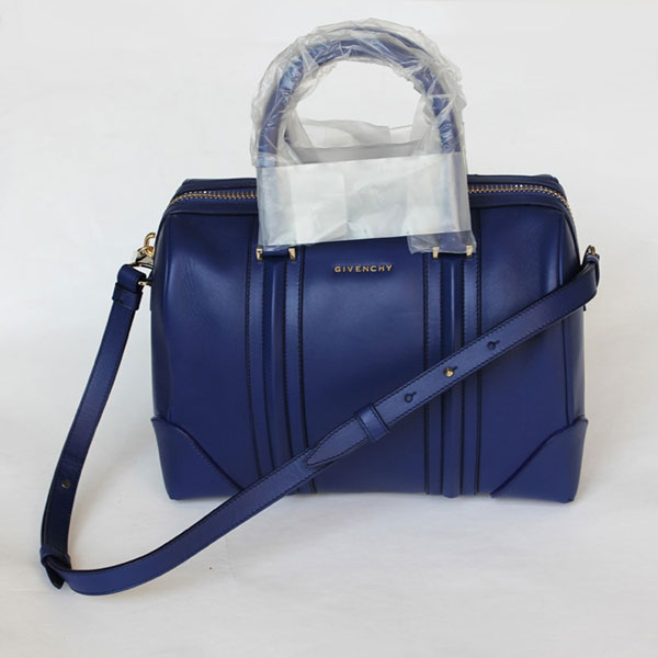 Hot 2013 Givenchy Lucrezia Calfskin leather bag 59267 royal blue