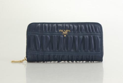 Prada wallet 91588 blue