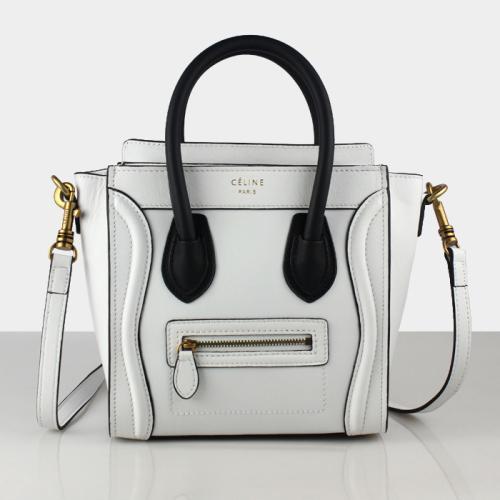 2013 Celine 88029 white&black