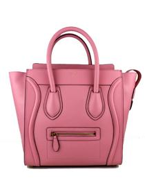 Hot 2013 celine luggge tote handbag 88022 pink