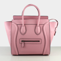 2013 celine luggge tote handbag 88022 light pink