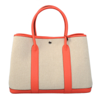2013 Hermes 36CM A1288 rice white&watermelon red