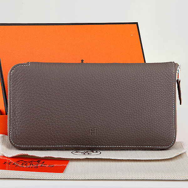 2014 Hermes new original leather A309 gray