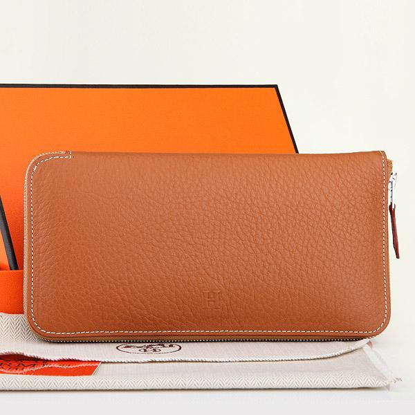 2014 Hermes new original leather A309 camel color