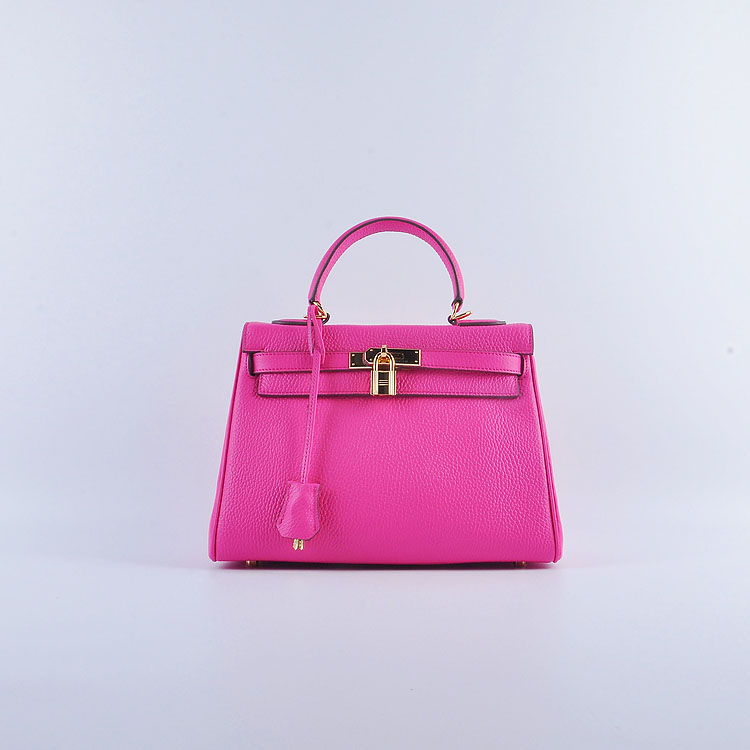 Hermes Kelly 28cm togo Leather 6608 peach Gold Buckle