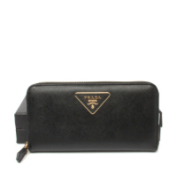 Prada calf Leather Wallet 1M0506 black