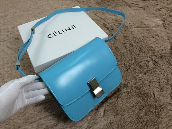 2015 Celine Classic retro original leather 11042 blue