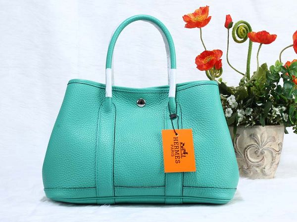 Hermes Garden Party Bag togo Leather H30 green