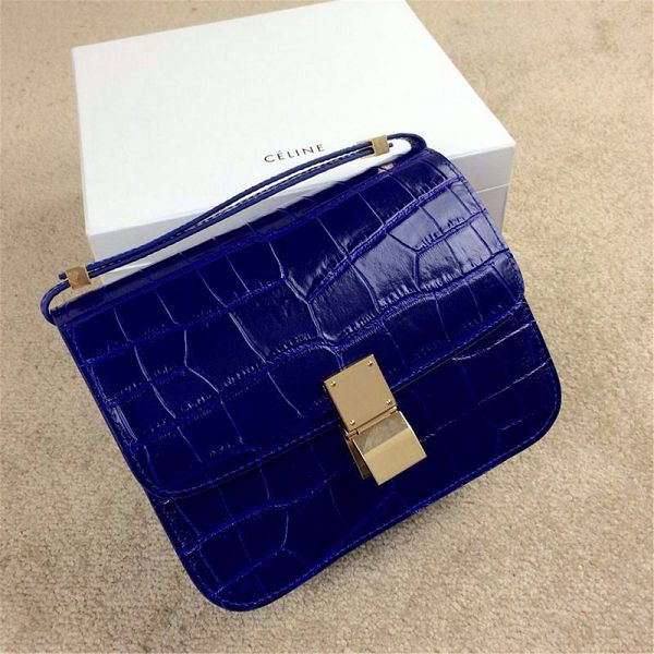 2015 Crline fashion classic retro alligator 11042 blue