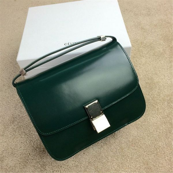 2015 Celine new model classic retro 11042 dark green