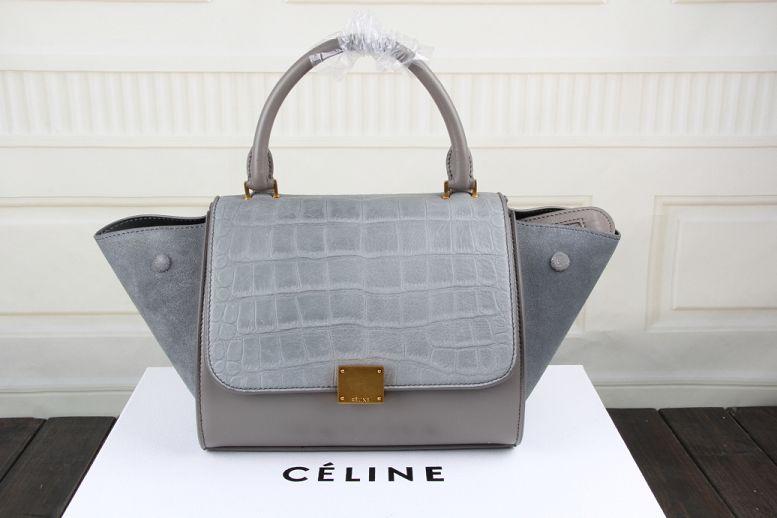 2015 Ceilne hot style crocodile 3345 gray