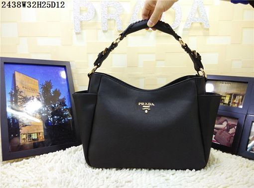 2015 Prada new model 2438 black