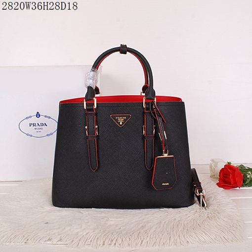 2015 Prada spring and summer new models 2820 black