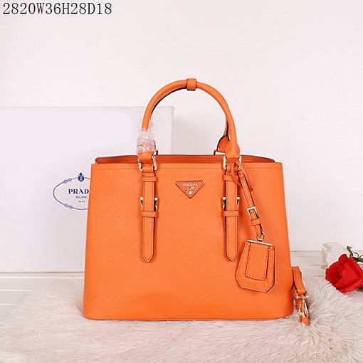 2015 Prada spring and summer new models 2820 orange