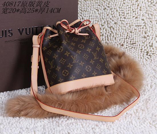 Louis Vuitton  noe bb monogram canvas handbags M40817