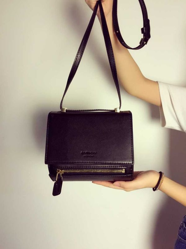 Givenchy box bag calfskin leather 89426 black
