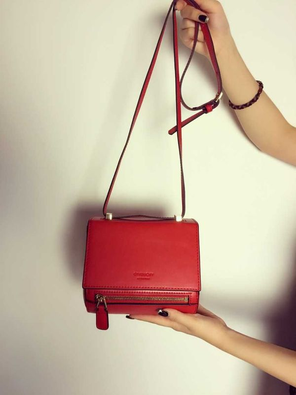 Givenchy box bag calfskin leather 89426 red