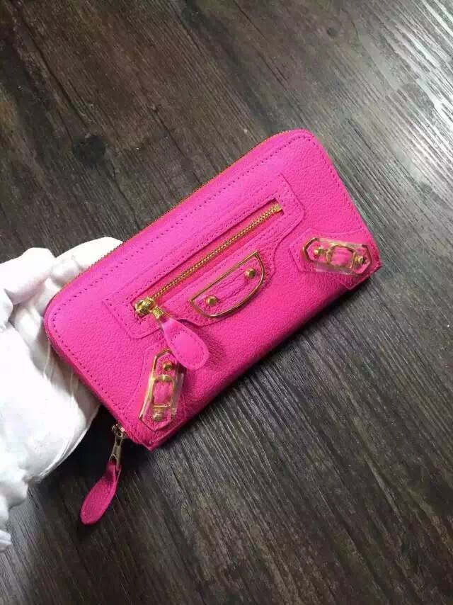 Balenciaga wallet 29001 Rose