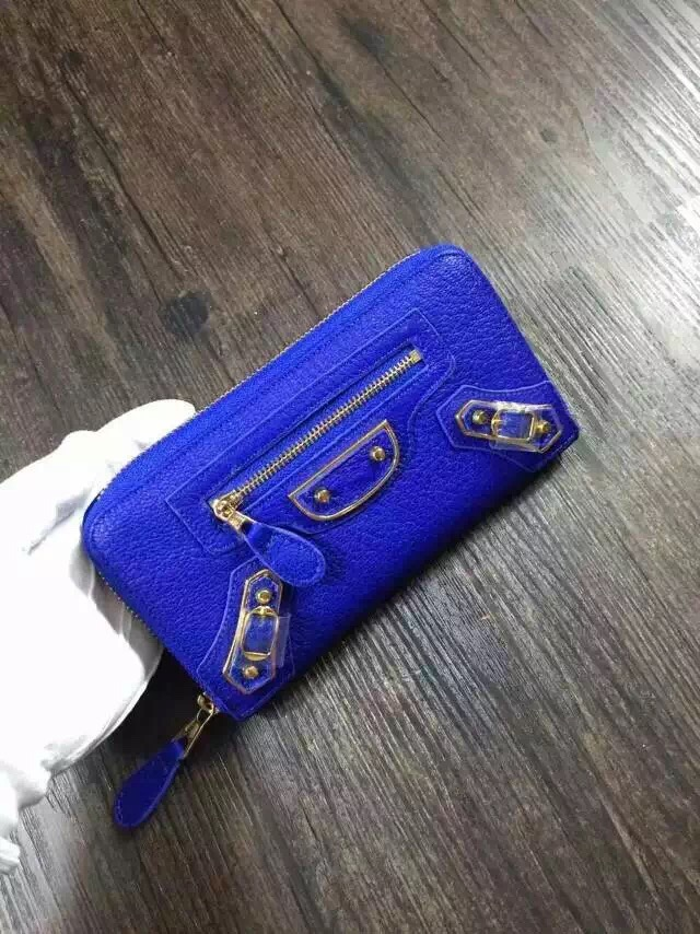Balenciaga wallet 29001 blue