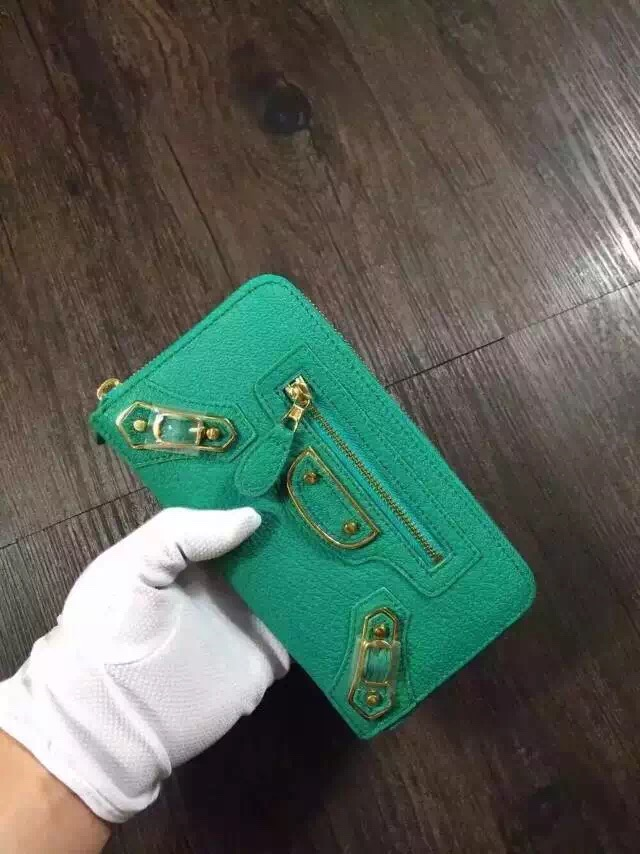 Balenciaga wallet 29001 green