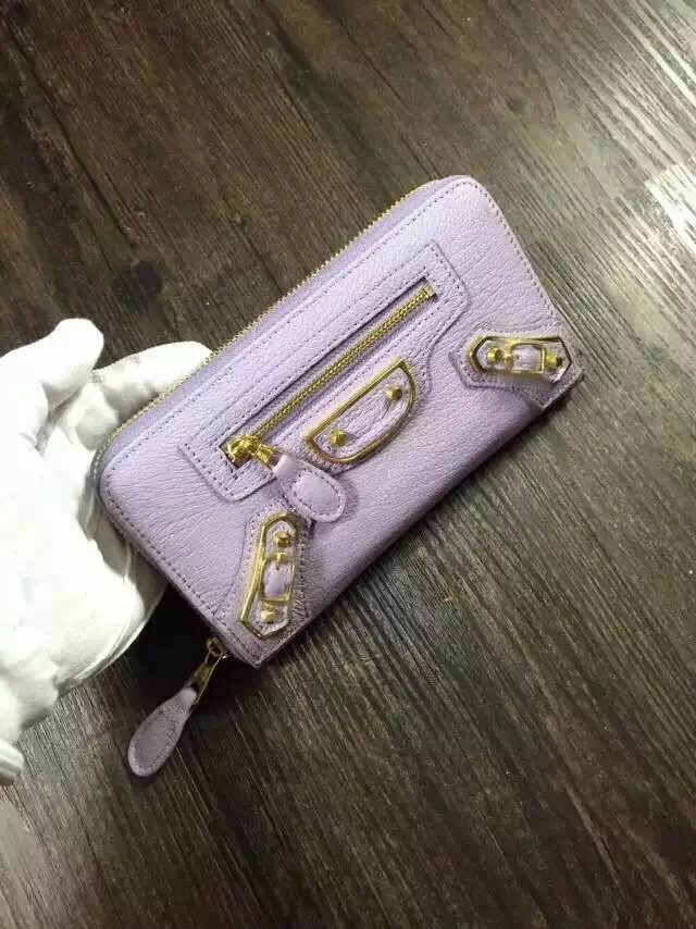Balenciaga wallet 29001 purple
